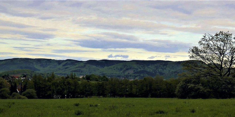 Göttingerode – Blick auf den Harz