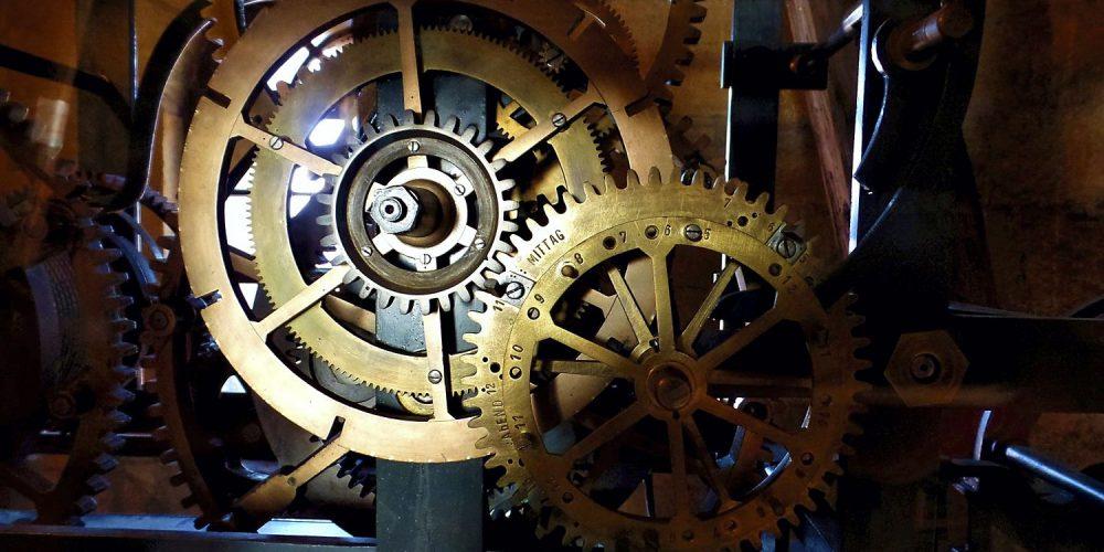 Uhrwerk der Marktkirche Goslar