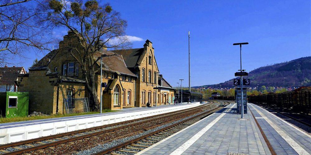Bahnhof Oker nach der Sanierung