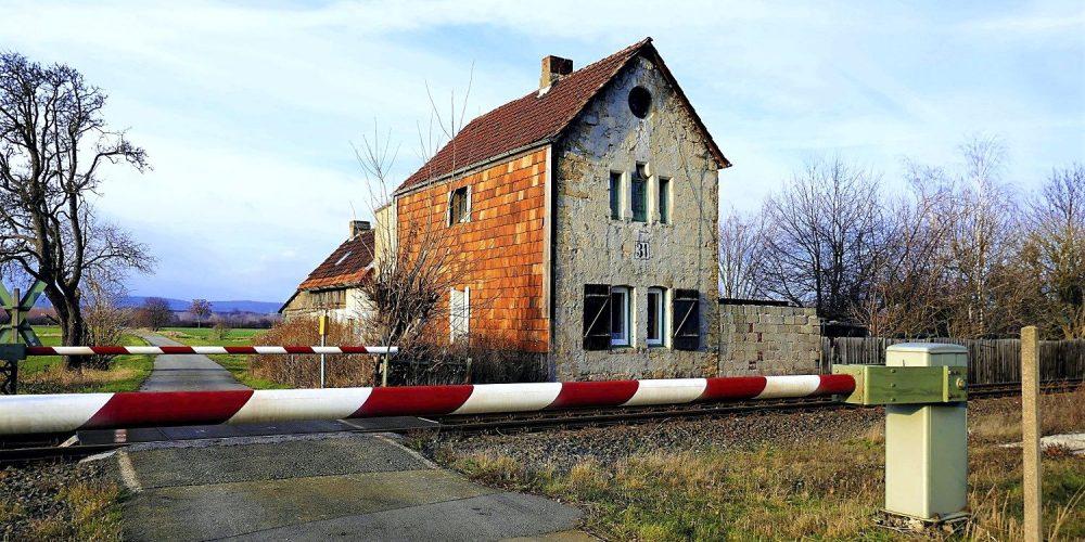 Das Ehemaliges Schrankenwärterhaus
