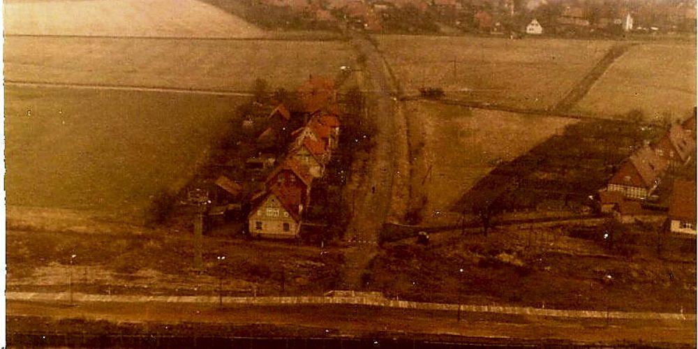 Flug über Eckertal – Stapelburg 1974