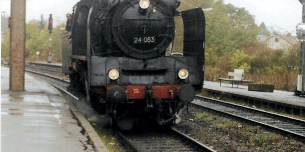 Einfahrt in den Bahnhof Vienenburg