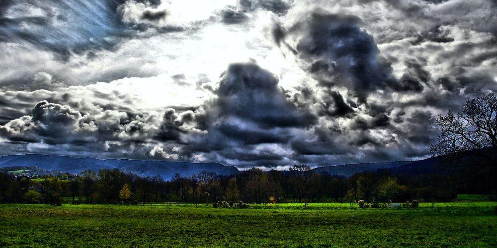 Himmel über Bad Harzburg