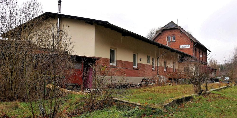 Ehemaliger Bahnhof Bad Harzburg-Eckertal