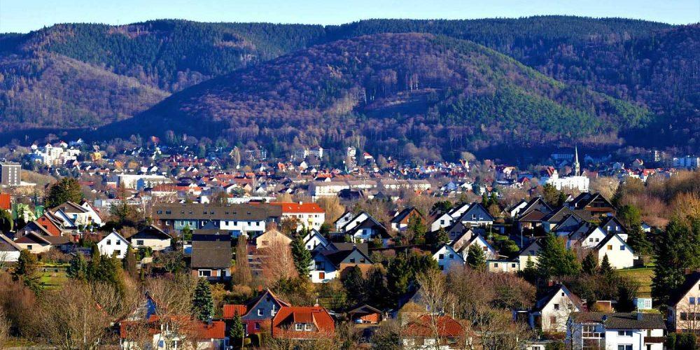 Blick vom Langenberg auf Bad Harzburg