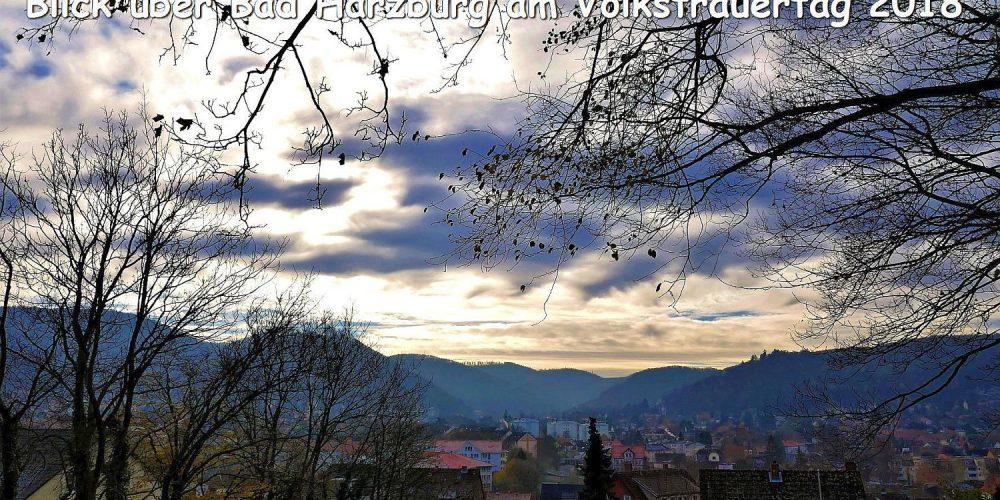Volkstrauertag 2018 in Bad Harzburg