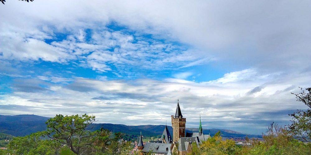 Blick auf das Wernigeröder Schloss