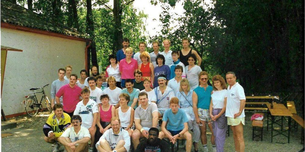 1986 Fitnessstudio Vienenburg Squash-Turnier