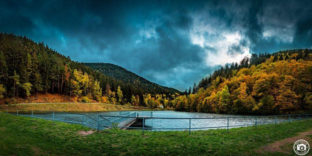 Der Herzberger Teich in Goslar