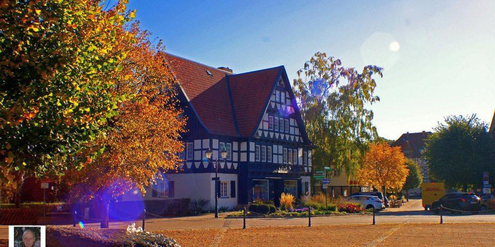 Goldener Herbst in Ilsenburg