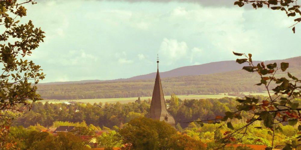Kirchturm Wölti und Harzvorland