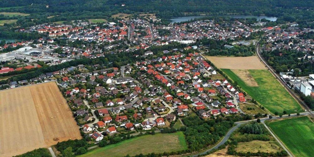 Aus dem Hubschrauber Vienenburg 2016