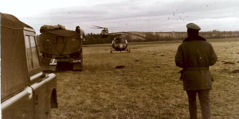 Grenzüberwachung 1975