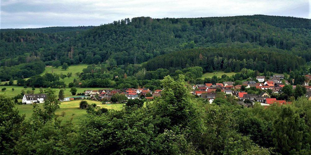 Blick auf den Bad Harzburger Ortsteil Göttingerode