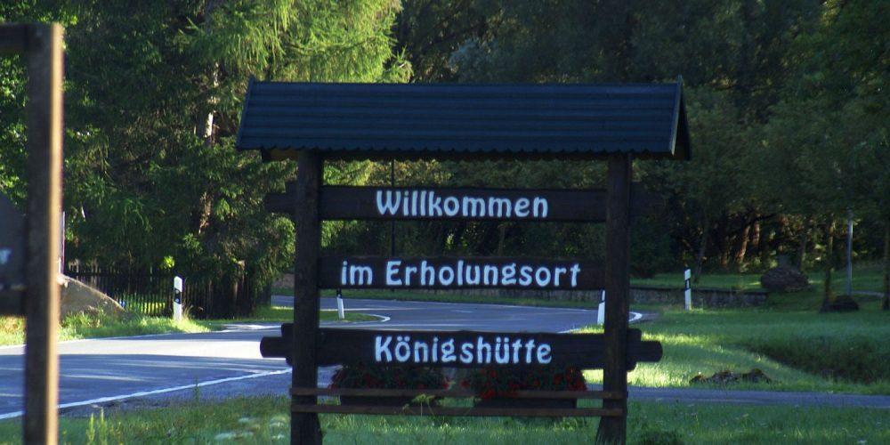 Unterwegs zur Ruine Königsburg