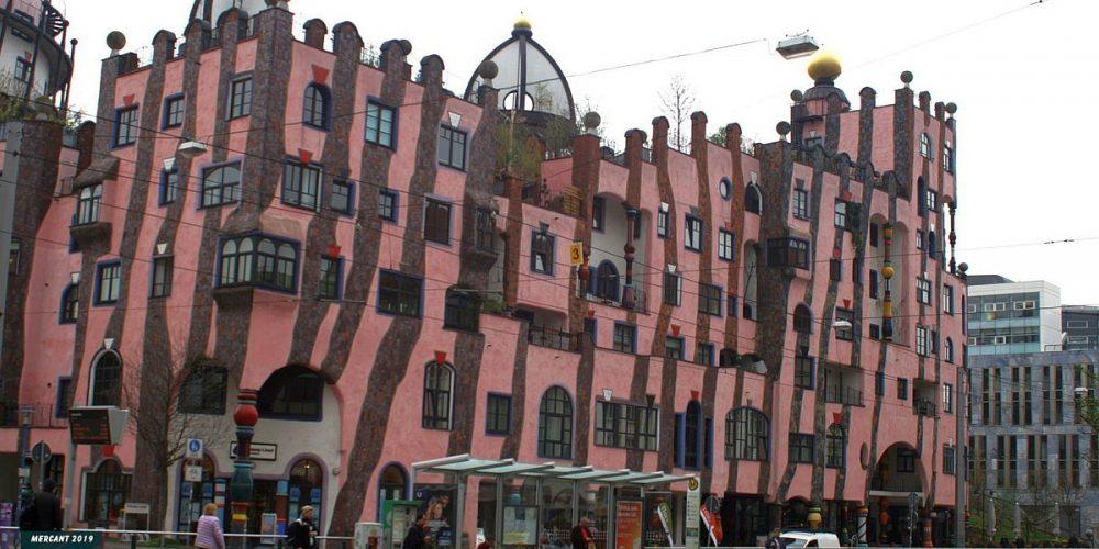 Magdeburg Das Hundertwasser Haus