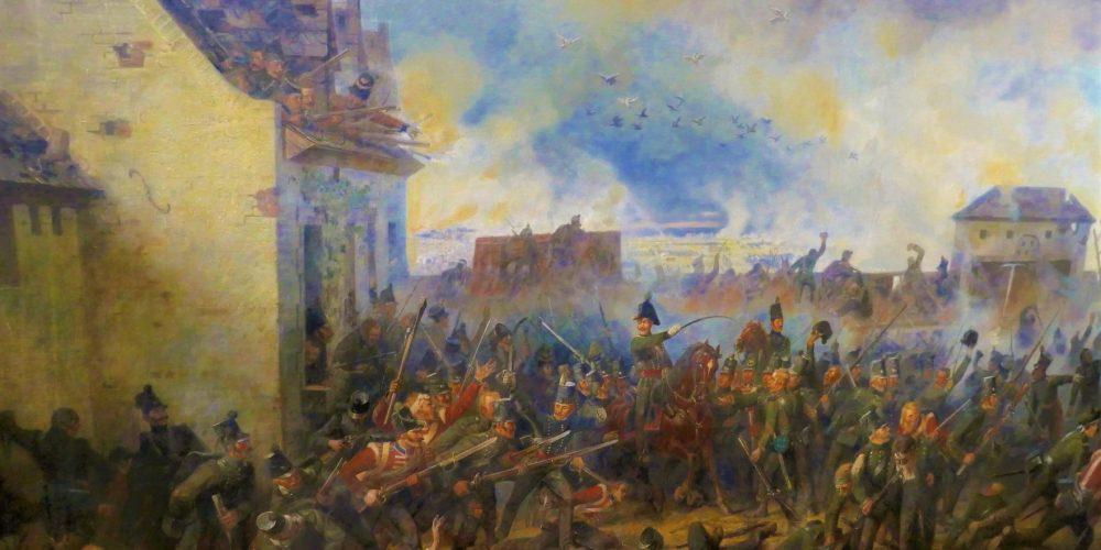 Schlacht von Waterloo am 18.06.1815