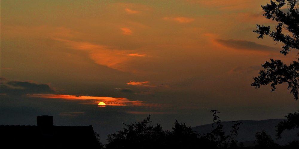 Sonnenaufgang über Schlewecke
