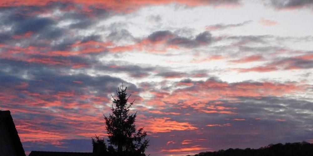 Sonnenuntergang in Wiedelah