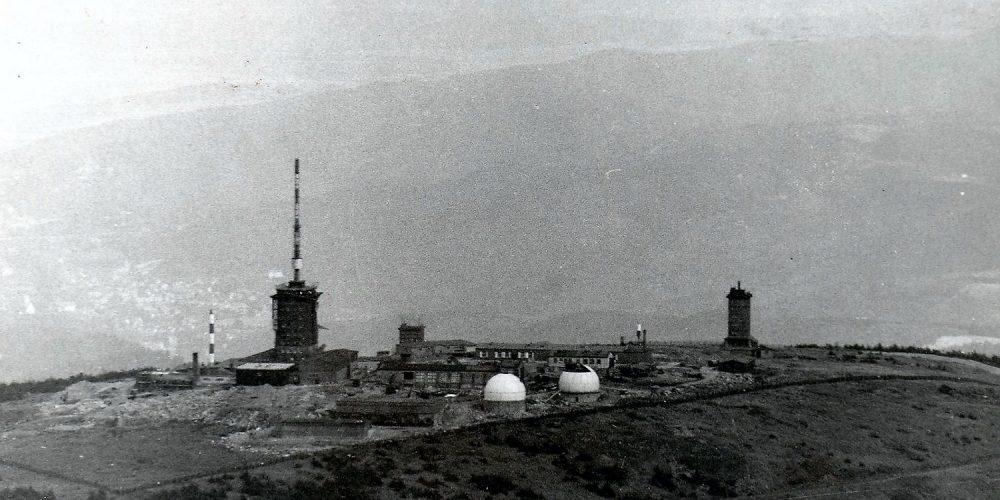 Der Brocken im Jahr 1979