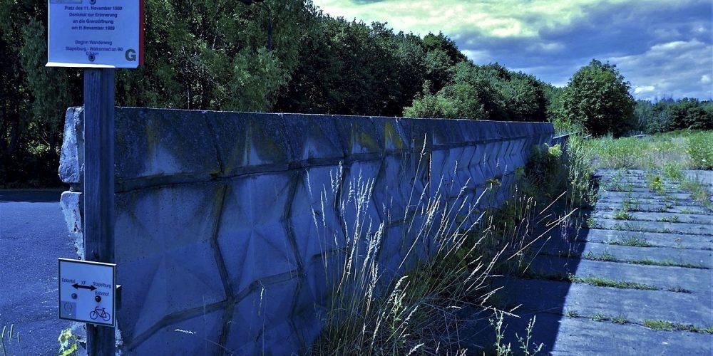 Schmuckmauer ehemalige innerdeutsche Grenze