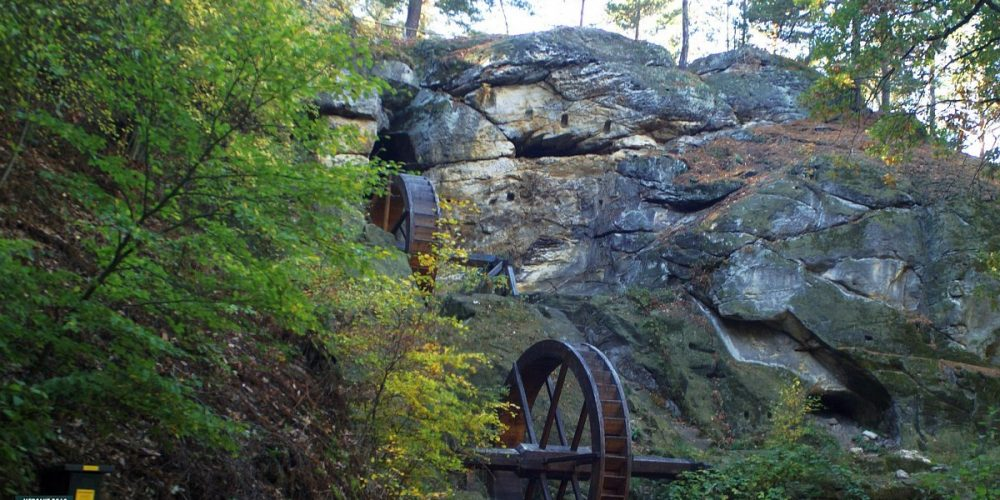 Bei Blankenburg die Regensteinmühle