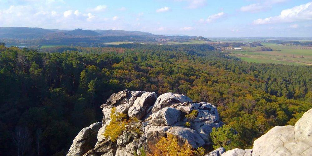 Aussicht Burgruine Regenstein