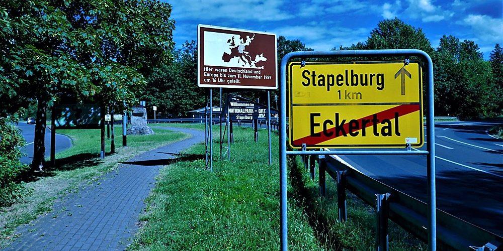 Eckertal vor und nach der Grenzöffnung