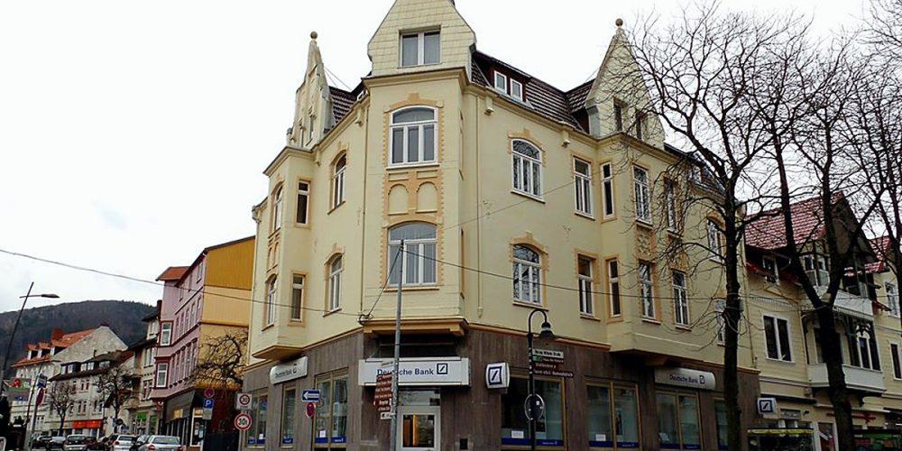 Eckhaus an der Herzog-Wilhelm-Straße