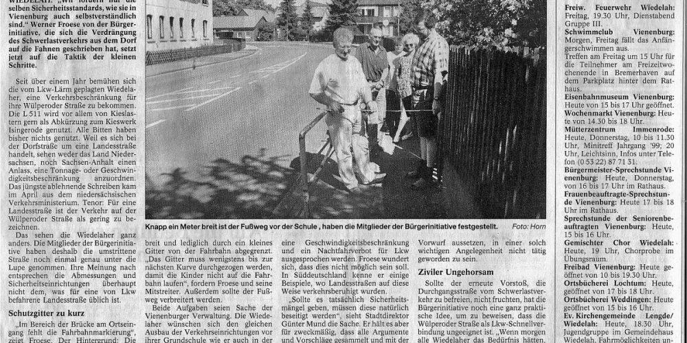 GZ 8 Juni 2000 Wiedelah