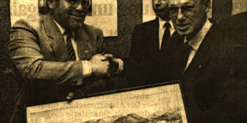 Präsidium und Bundesvorstand vor 30 Jahren