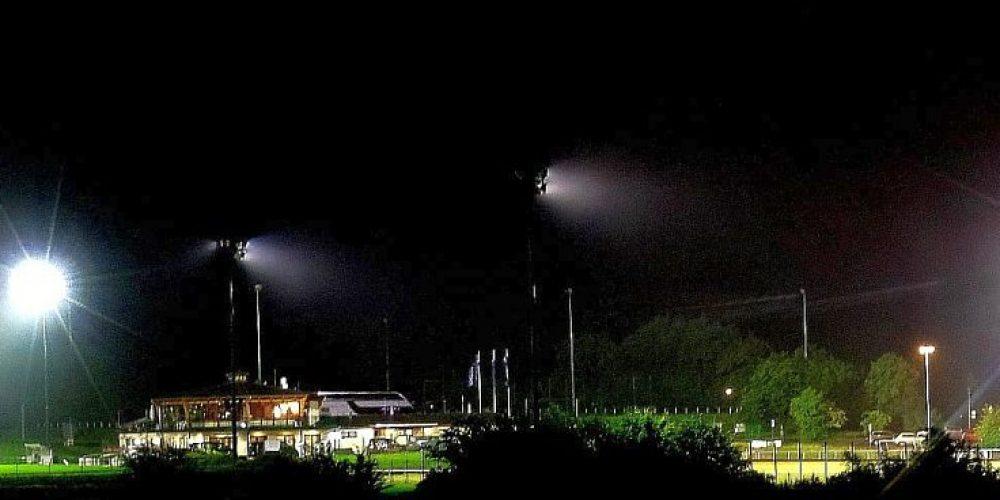 Sportpark Bad Harzburg im Dauerregen