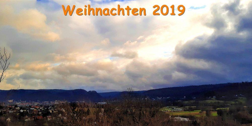 Weihnachten 2019 im nördlichen Vorharz