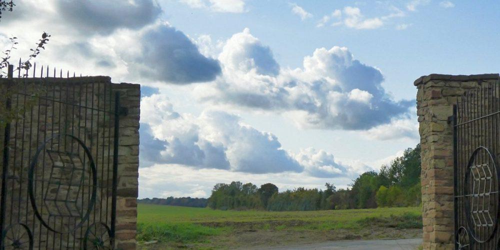 herbstliche Wolken