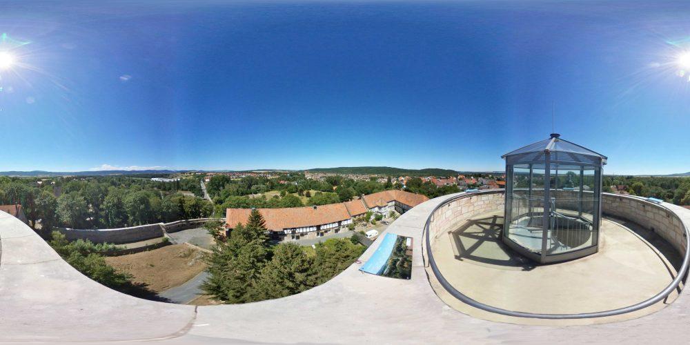360° Blick von der Vienenburg