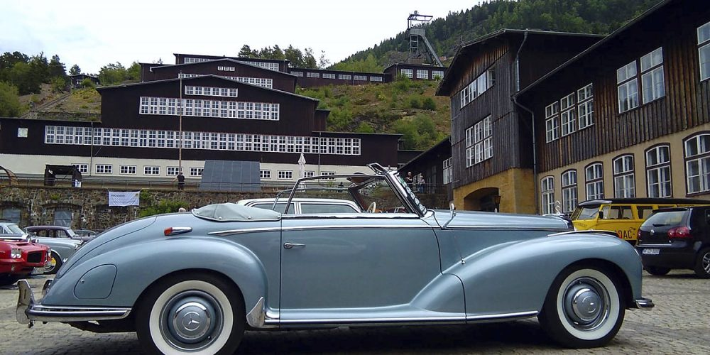 ADAC-Klassik-Rallye am Rammelsberg Goslar