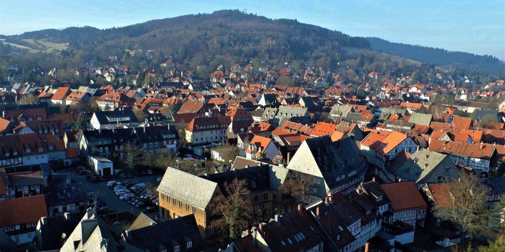 Blick vom Nordturm der Marktkirche Goslar