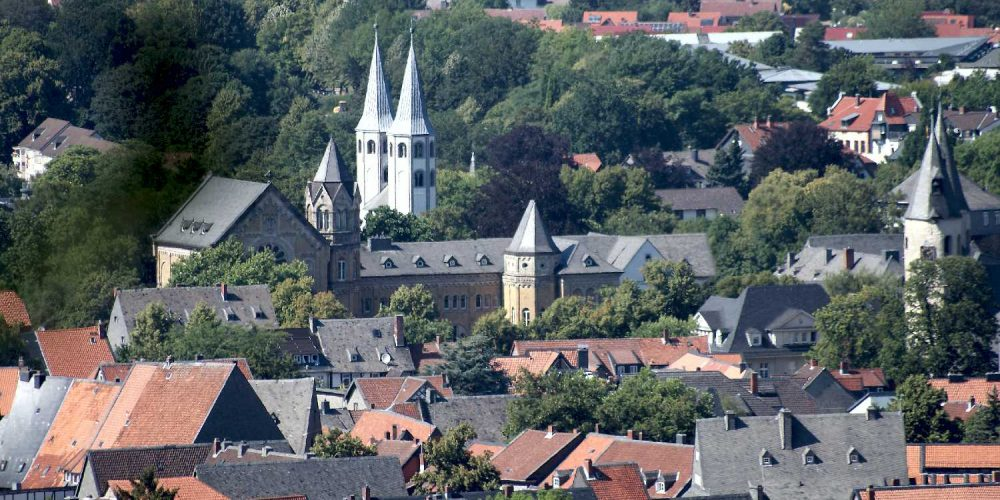 Ratsgymnasium und Vorwerkkirche