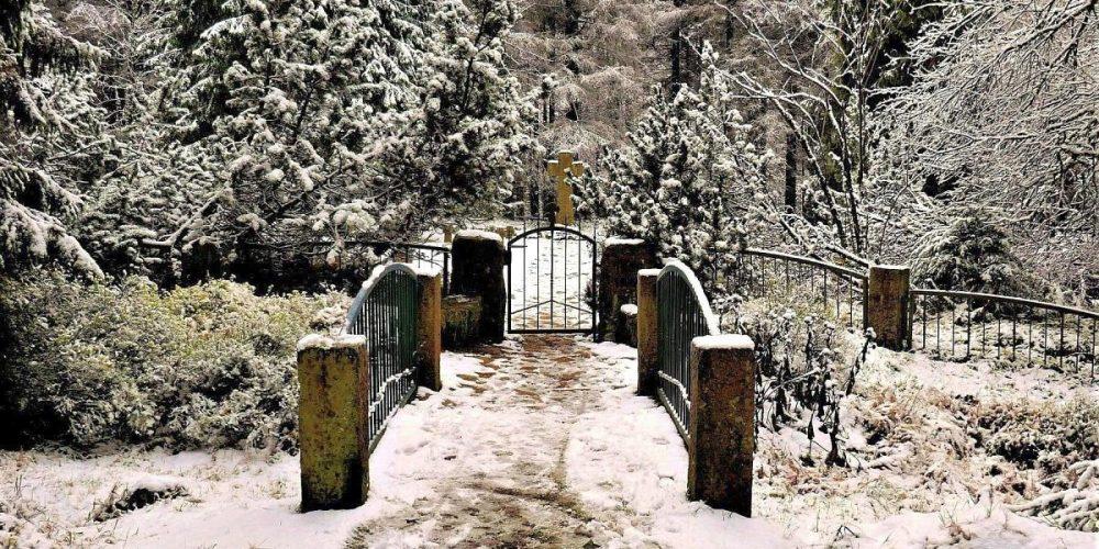 Ehrenfriedhof Oderbrück im Oberharz