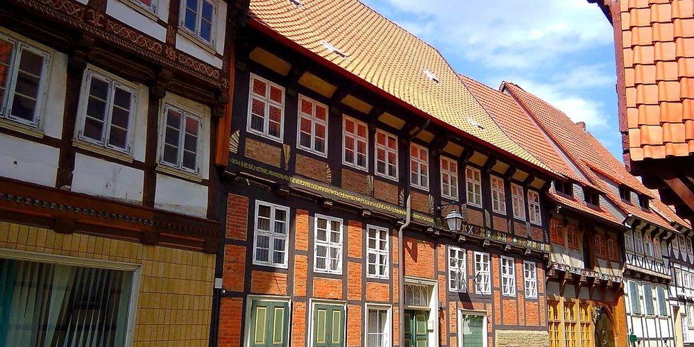 Fachwerkhäuser in Hornburg