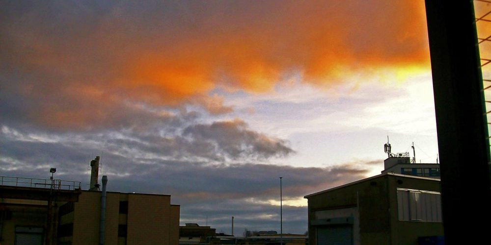 Himmel über Ilsenburg