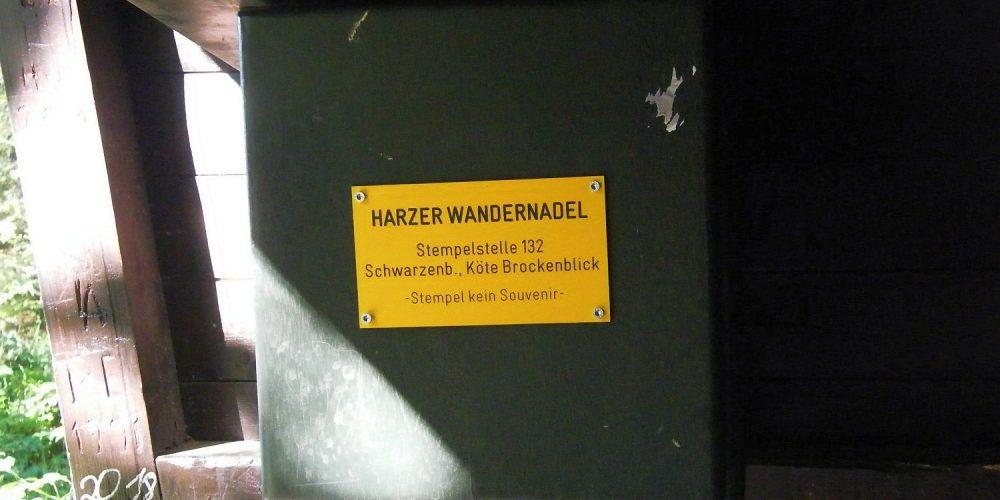 Wandern im Harz – Schwarzenberg zur Kröte bei Altenau mit Brockenblick