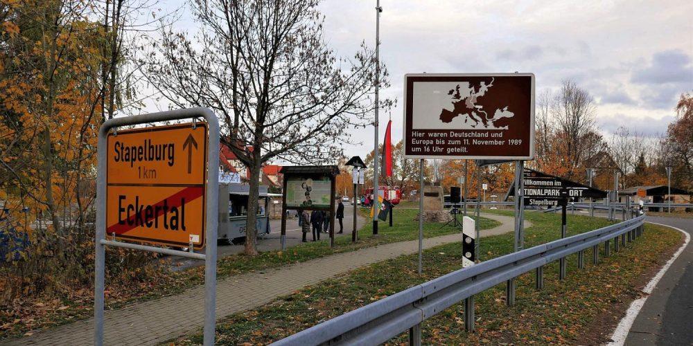 Gedenkfeier zur Grenzöffnung in Stapelburg und Eckertal
