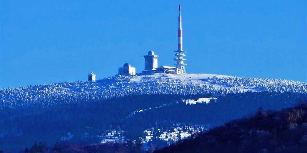 Blick von Bad Harzburg zum Brocken